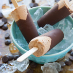 Chocolate Peanut Butter Swirl Mousse Pops