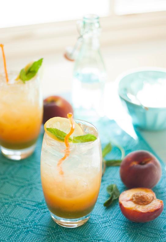 Sparkling Mint Lemonade Recipe — Dishmaps