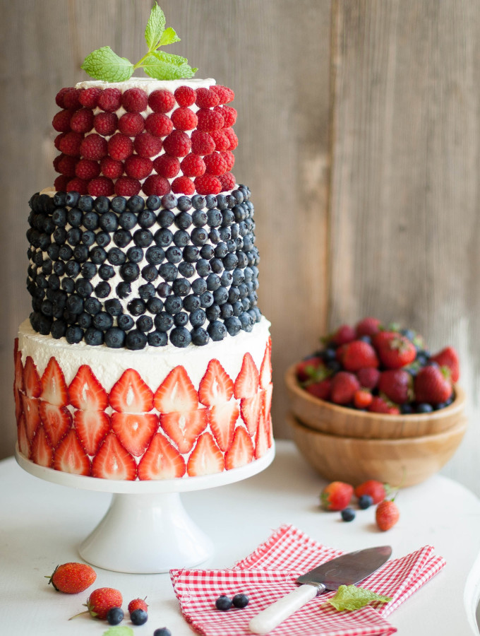 A Berry Covered Birthday Cake + a HUGE cake decorating secret!!