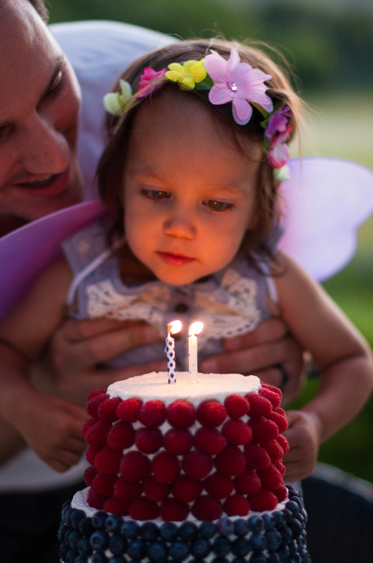 A Berry Covered Birthday Cake | thekitchenmccabe.com