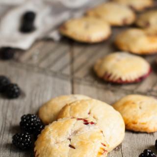 Blackberry Mascarpone Hand Pies | thekitchenmccabe.com