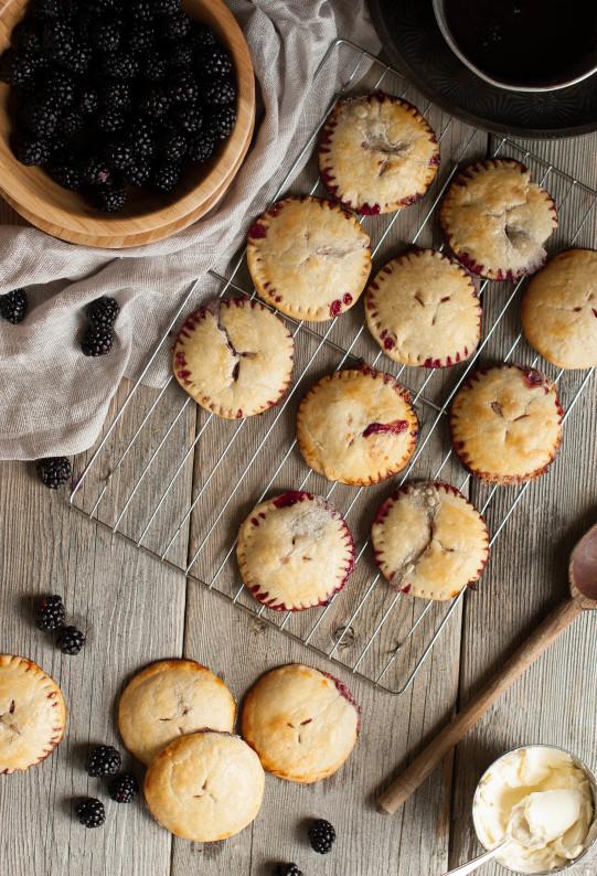 Blackberry Marscapone Hand Pies | thekitchenmccabe.com