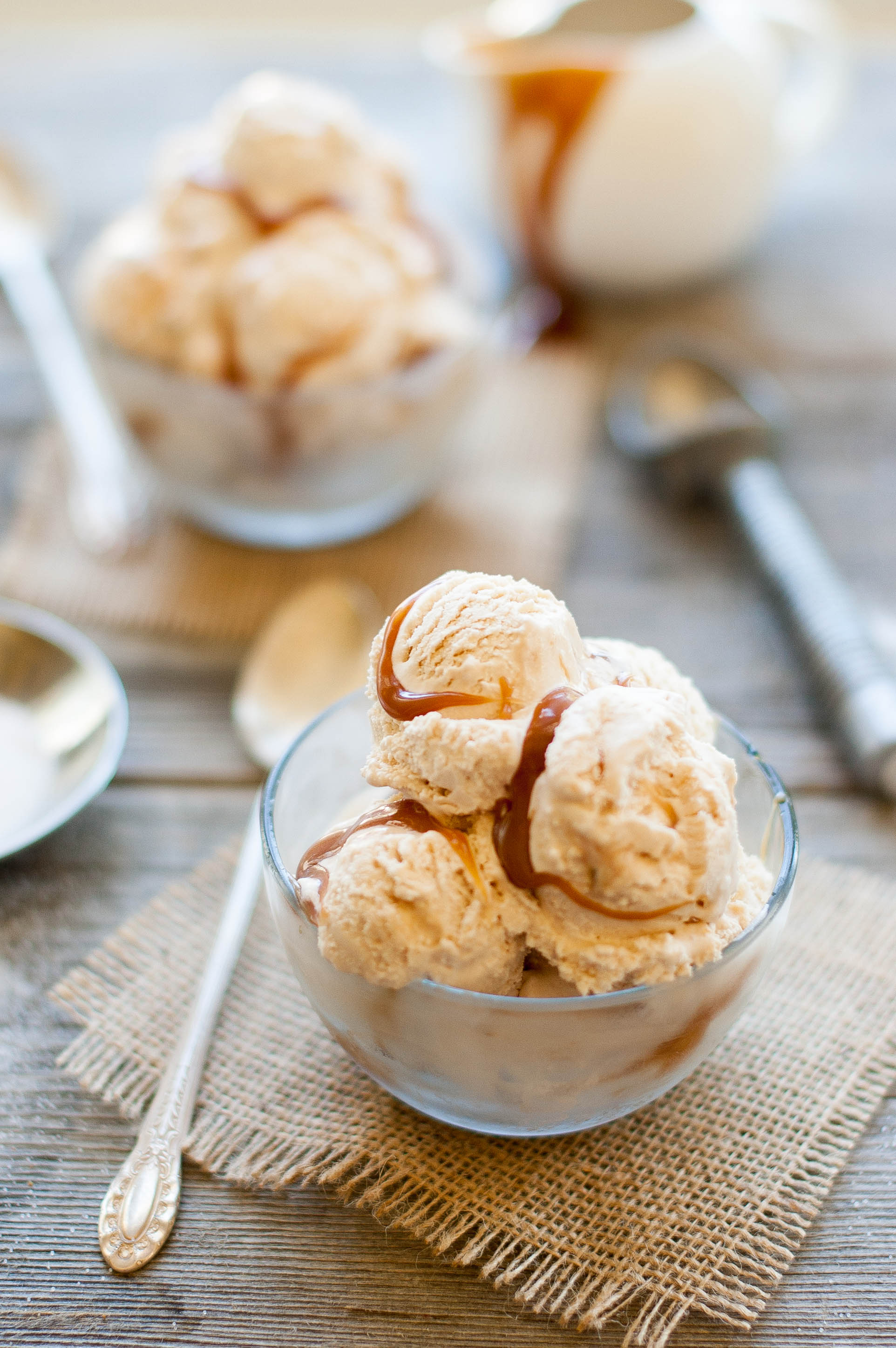 Homemade Salted Caramel Ice Cream - The Kitchen McCabe