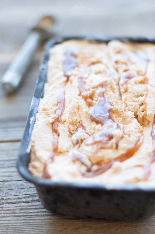 Salted Caramel Ice Cream | thekitchenmccabe.com