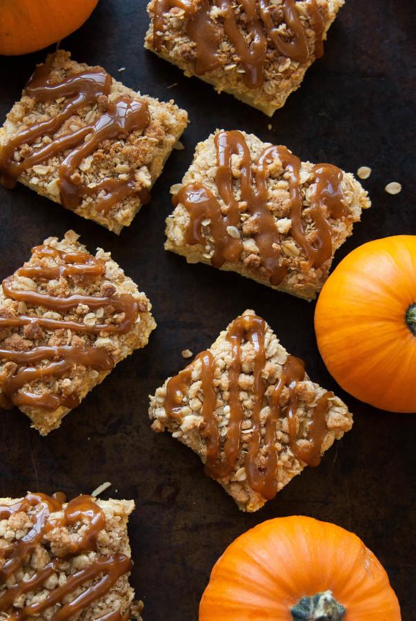 Pumpkin Cheesecake Crumble Squares Recipes — Dishmaps