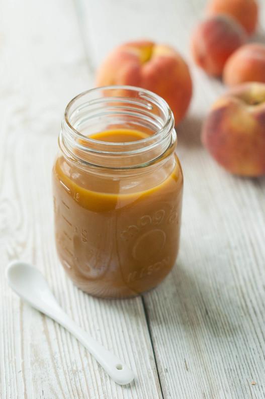 Peach Caramel Sauce | thekitchenmccabe.com