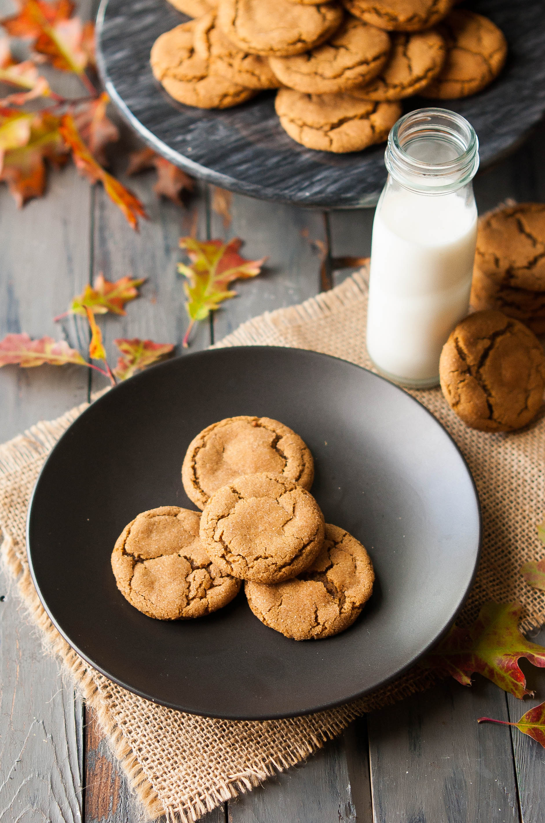 Soft & Chewy Gingersnap Cookies - The Kitchen McCabe