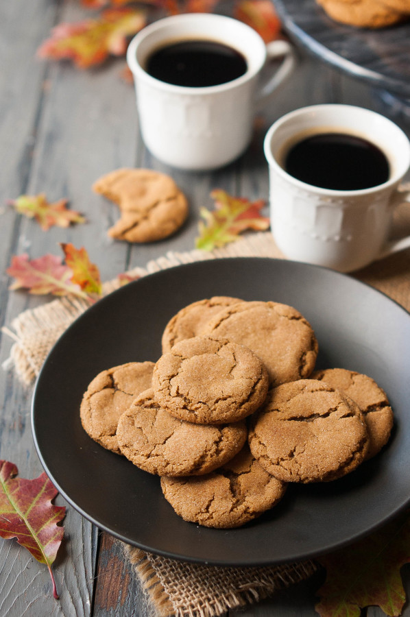 how to make soft gingersnap cookies