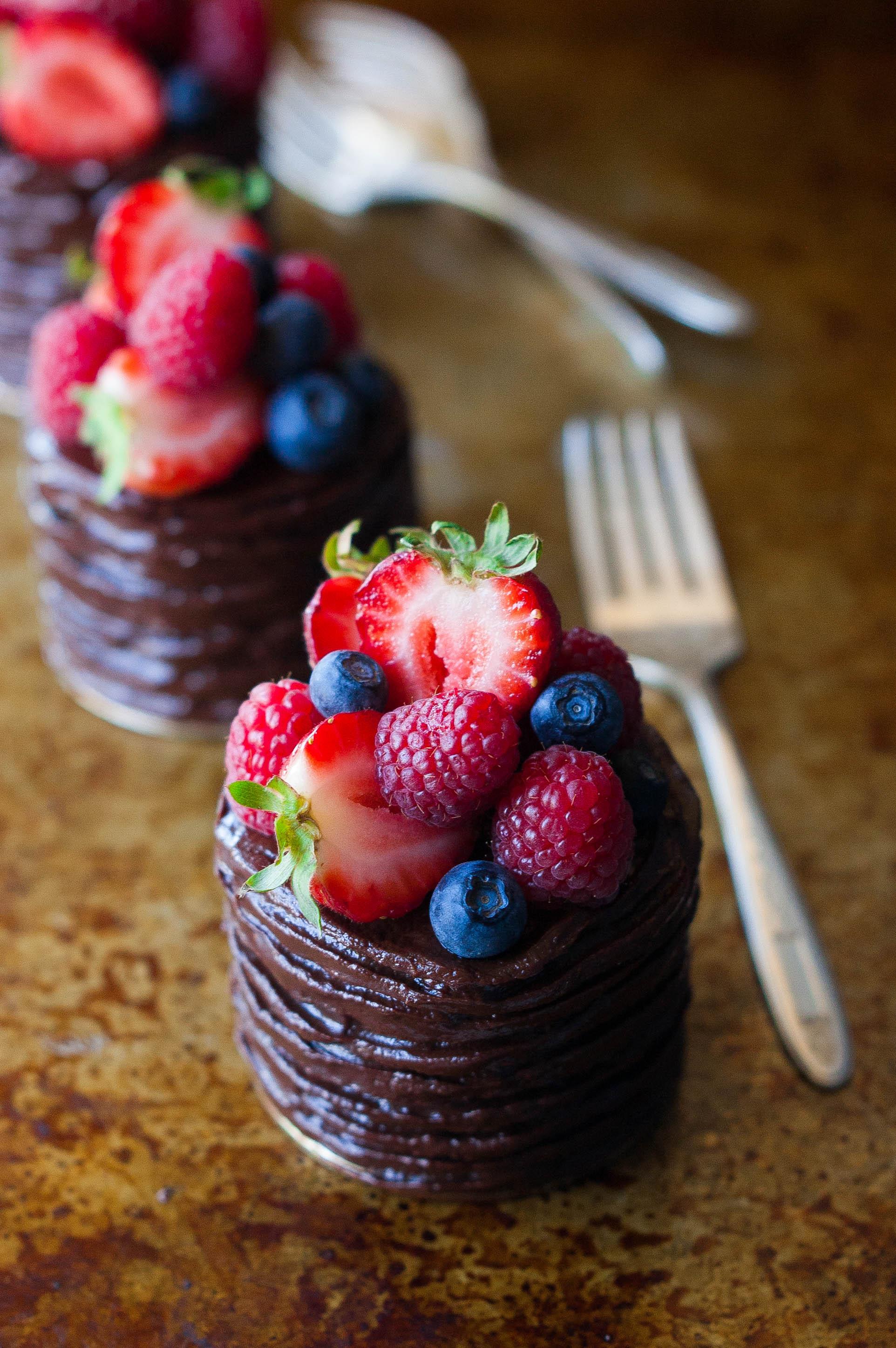Piles Of Chocolate Cake