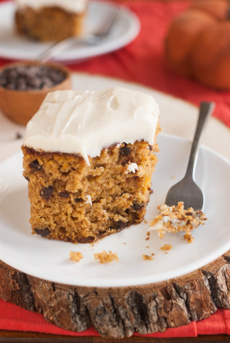 Chocolate Chip Snack Cake Sour Cream