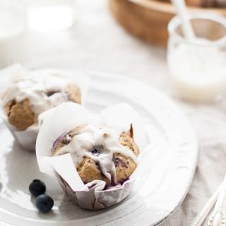 Blueberry Meyer Lemon Chia Seed Muffins | thekitchenmccabe.com