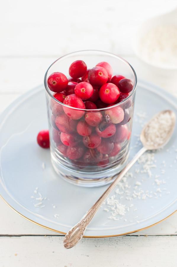 Cranberry Coconut Chia Scones | thekitchenmccabe.com