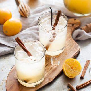 A WINTER LEMONADE: Meyer Lemon Vanilla Spice | thekitchenmccabe.com