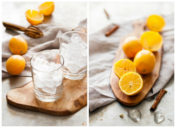 A WINTER LEMONADE: Meyer Lemon Vanilla Spice | thekitchenmccabe.com