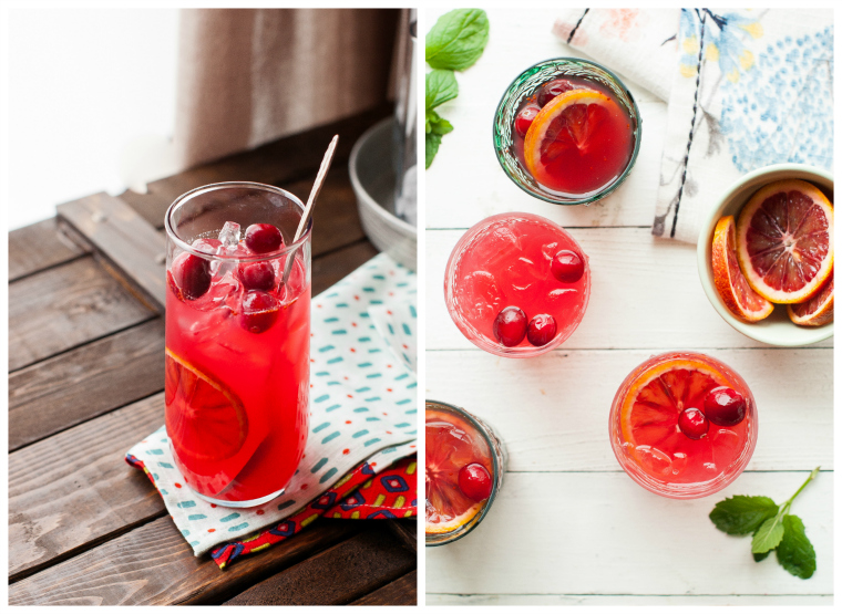 WINTER LEMONADE: Cranberry Blood Orange