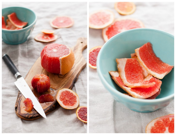 Mint-infused Coconut Chia Pudding with Grapefruit Supremes | thekitchenmccabe.com