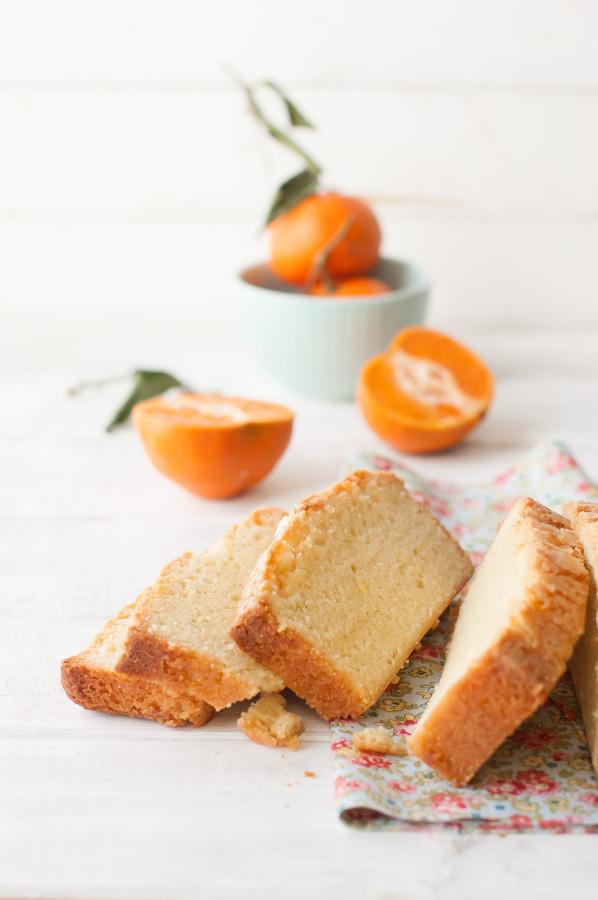 Orange Scented Pound Cake with Broiled Citrus Ice Cream