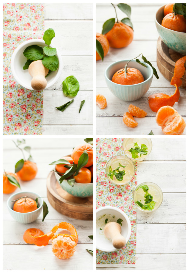 WINTER LEMONADE: Mandarin Mint | thekitchenmccabe.com