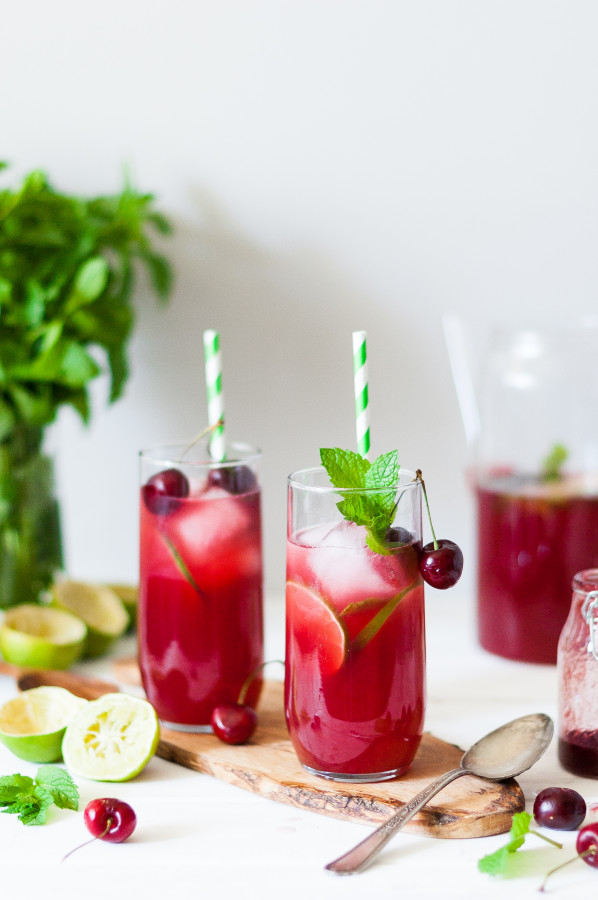 Mint & Black Cherry Limeade