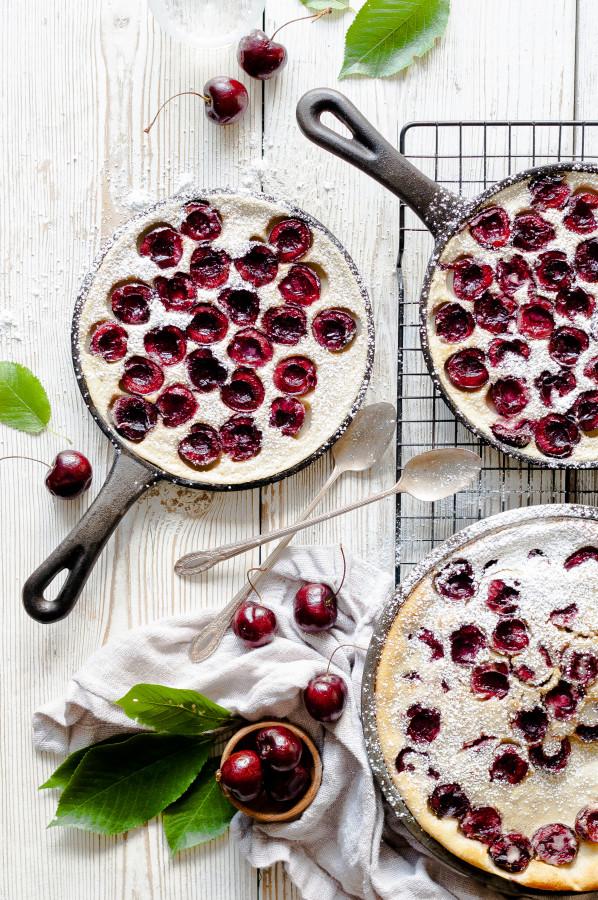 Buttermilk & Cherry Clafoutis