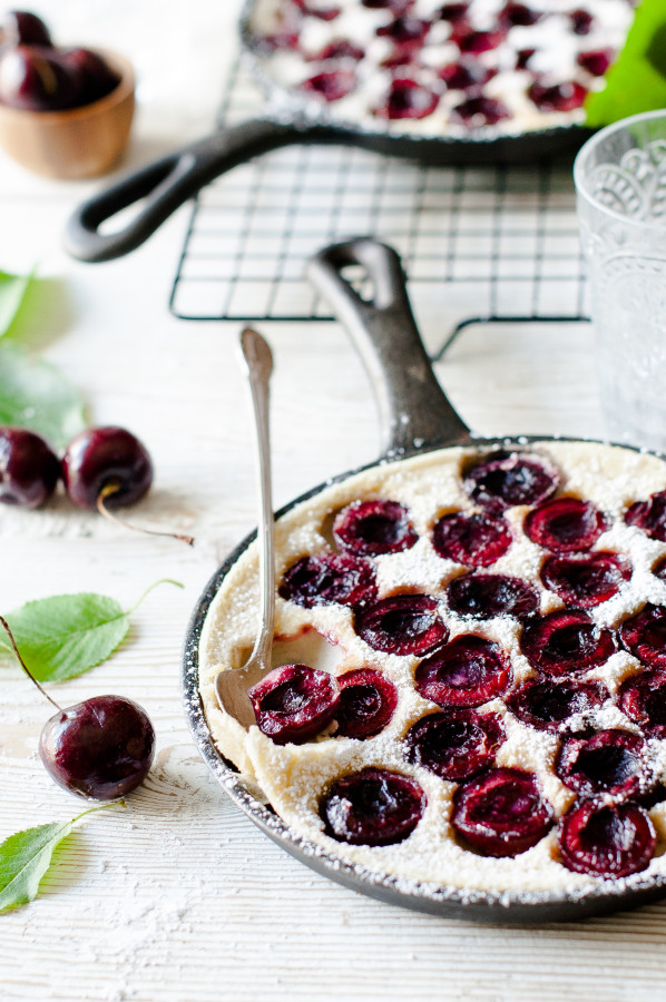 Buttermilk & Cherry Clafoutis