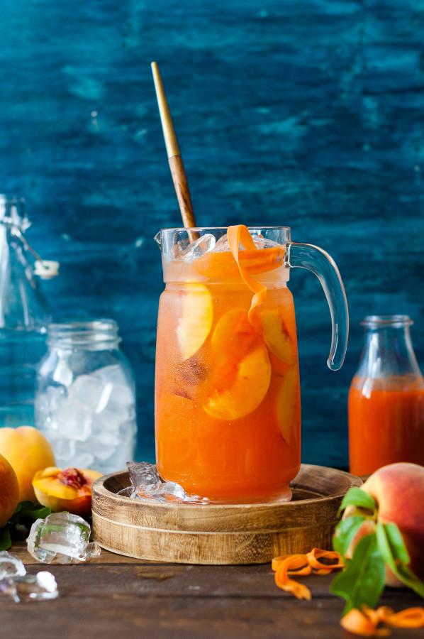Peach Carrot Lemonade