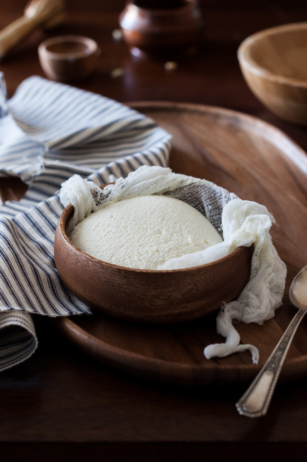 Homemade Fresh Ricotta Cheese
