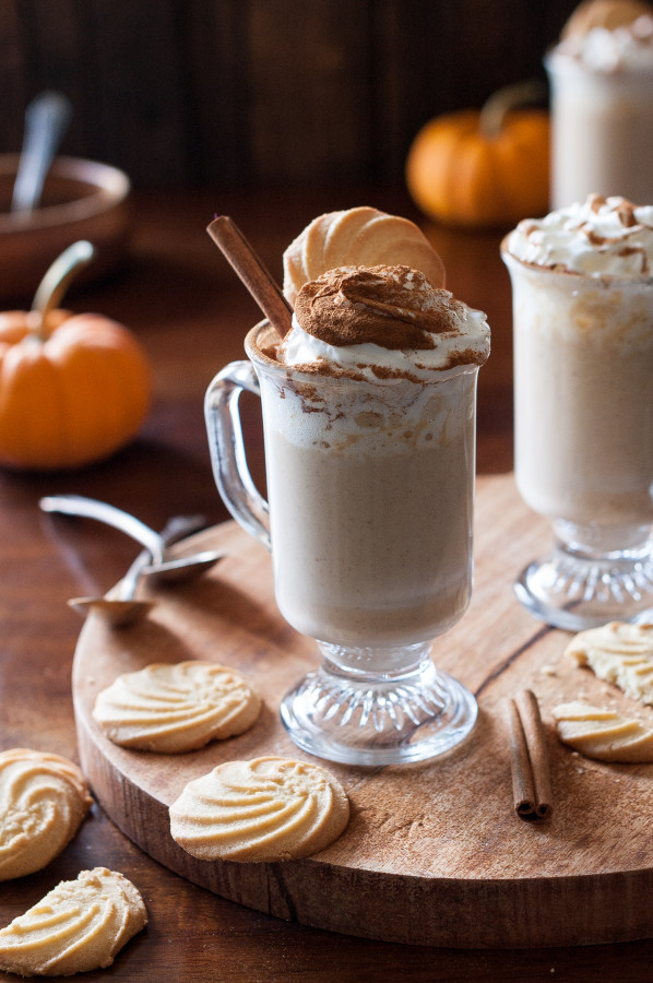 Pumpkin Spice White Hot Chocolate - The Kitchen McCabe