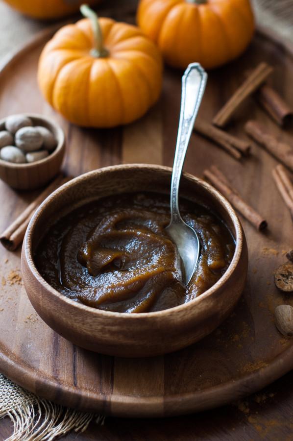 Pumpkin Butter (no refined sugar)