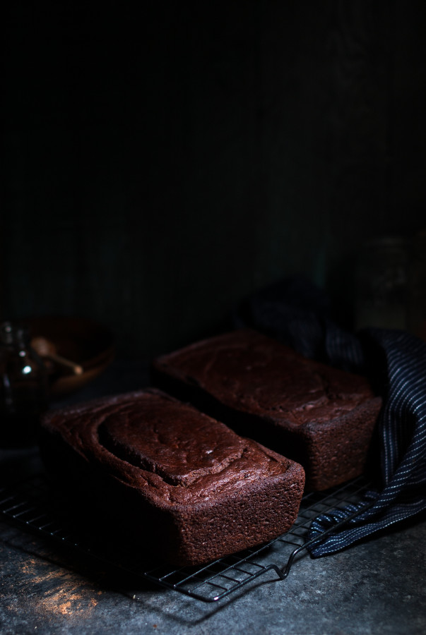 Chocolate Banana Bread {gluten, dairy, and refined sugar free}