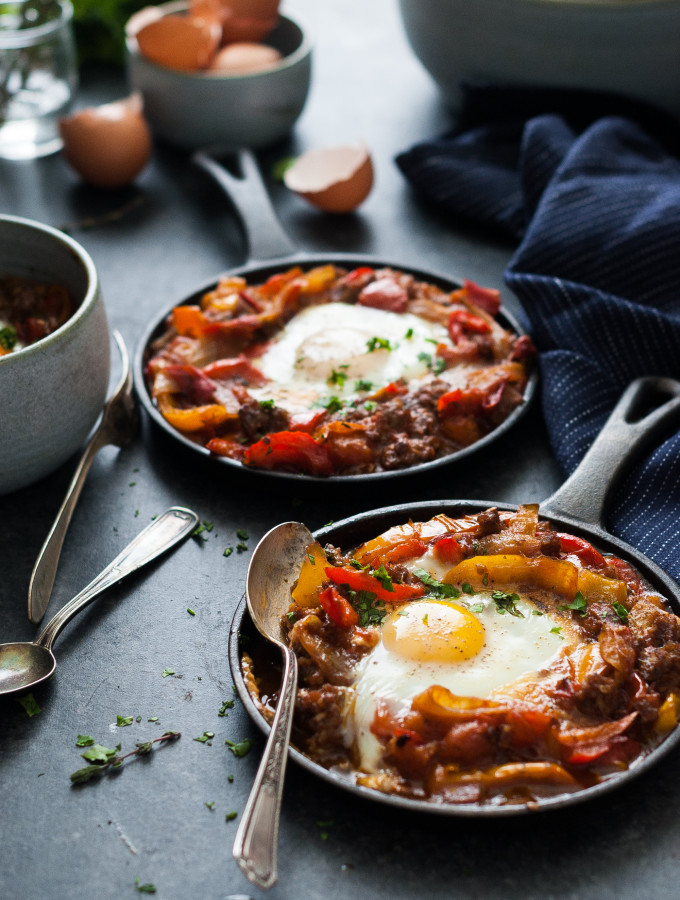 THE WEEKEND BREAKFAST: Sausage Shakshuka