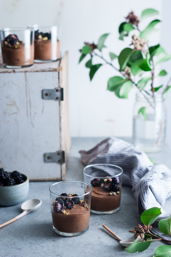 Chocolate Mousse {dairy free, vegan, refined sugar free}