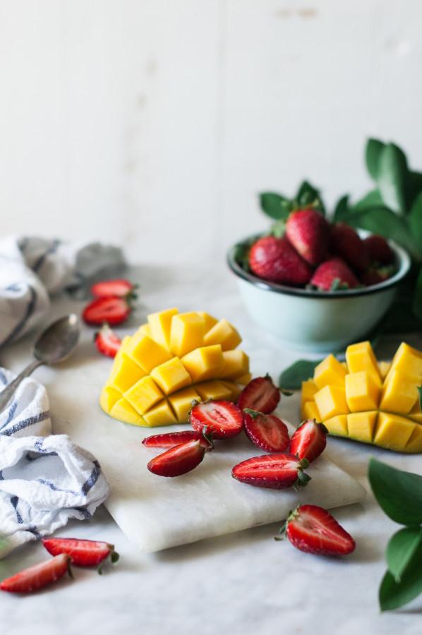 Mango & Coconut Chia Puddings