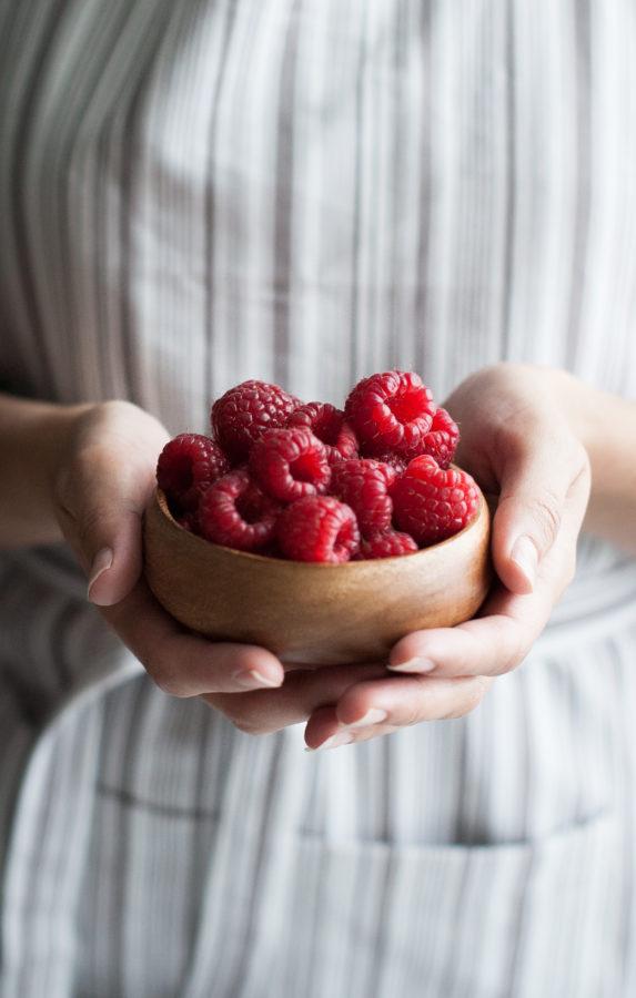 Raspberry Rhubarb & Rose Shrubs