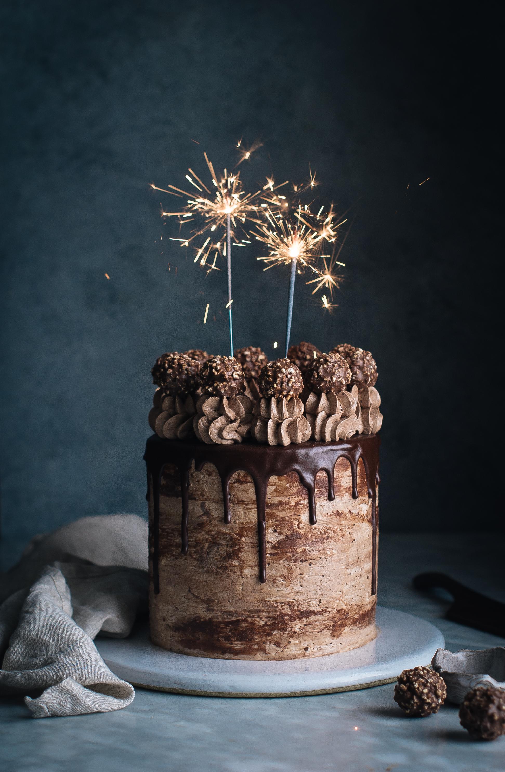 Chocolate Marzipan Cake Covering
