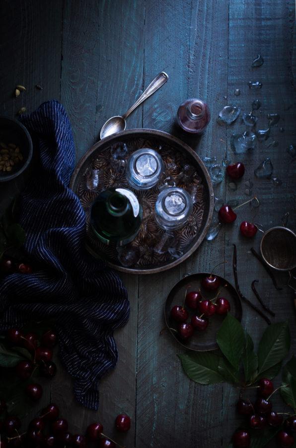 Black Cherry, Cardamom, & Vanilla Shrub