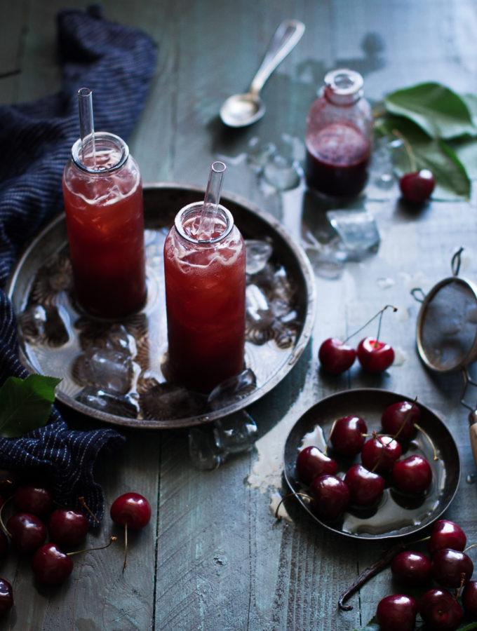 Black Cherry, Cardamom, & Vanilla Shrubs