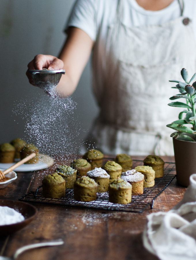 Pistachio & Lemon Marzipan Tea Cakes (GF) + Farmhouse Pottery Giveaway!
