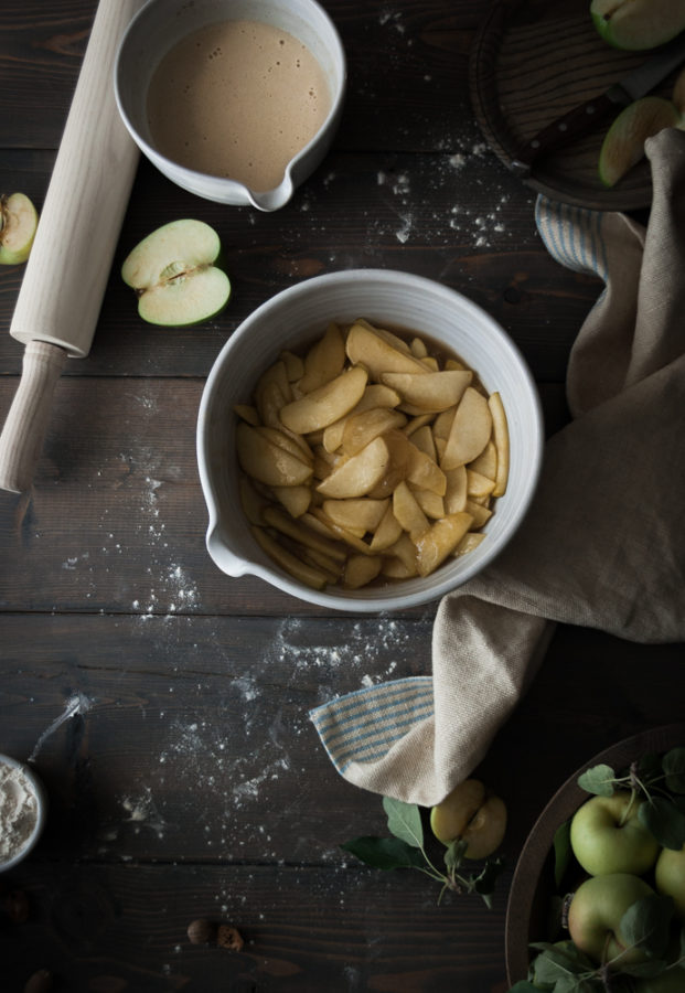 Deep Dish Custard + Cardamom Apple Pie
