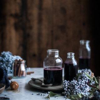 Foraging for Elderberries + Elderberry Syrup