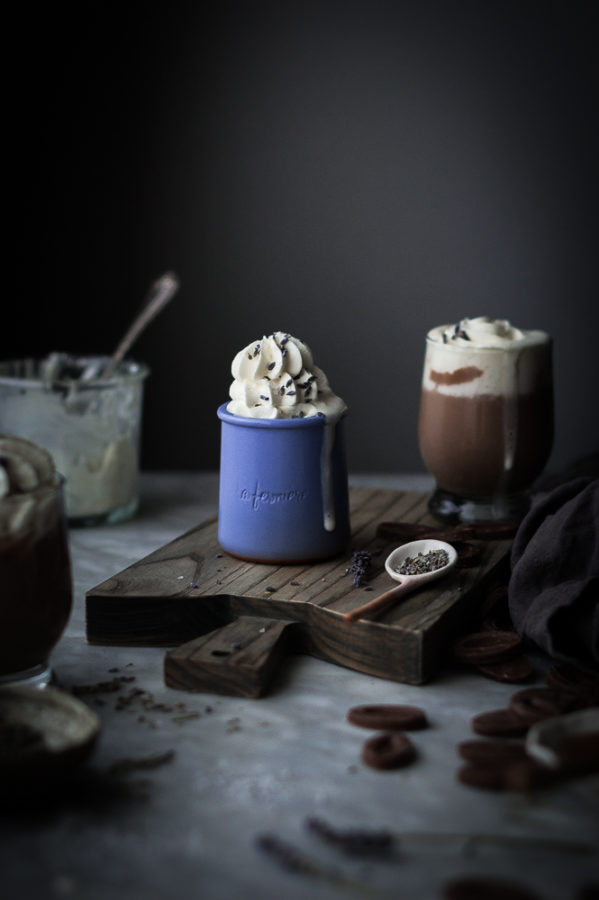Lavender & Vanilla Milk Hot Chocolate