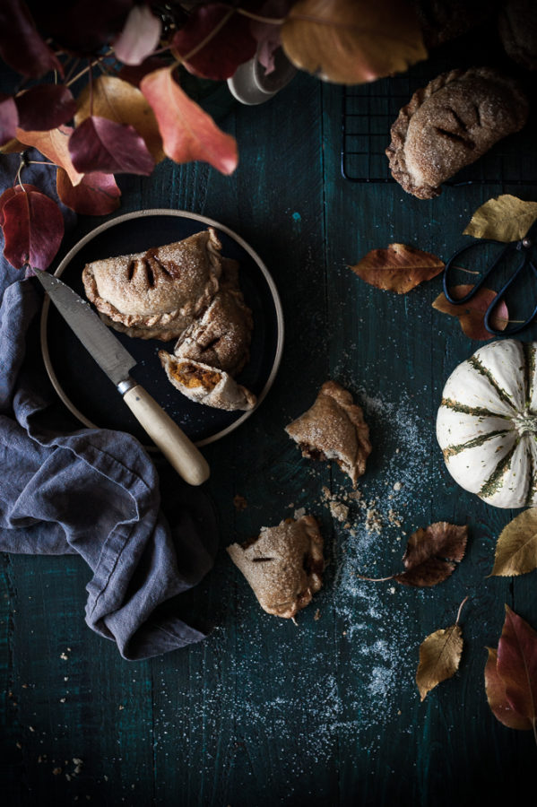 Maple Pumpkin + Carameled Walnut Hand Pies