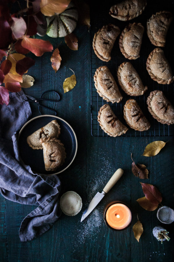 Maple Pumpkin + Carameled Walnut Hand Pies - The Kitchen ...