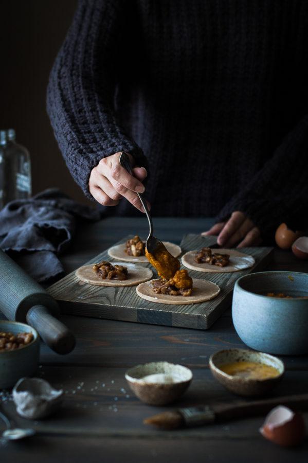 Maple Pumpkin + Carameled Walnut Hand Pies