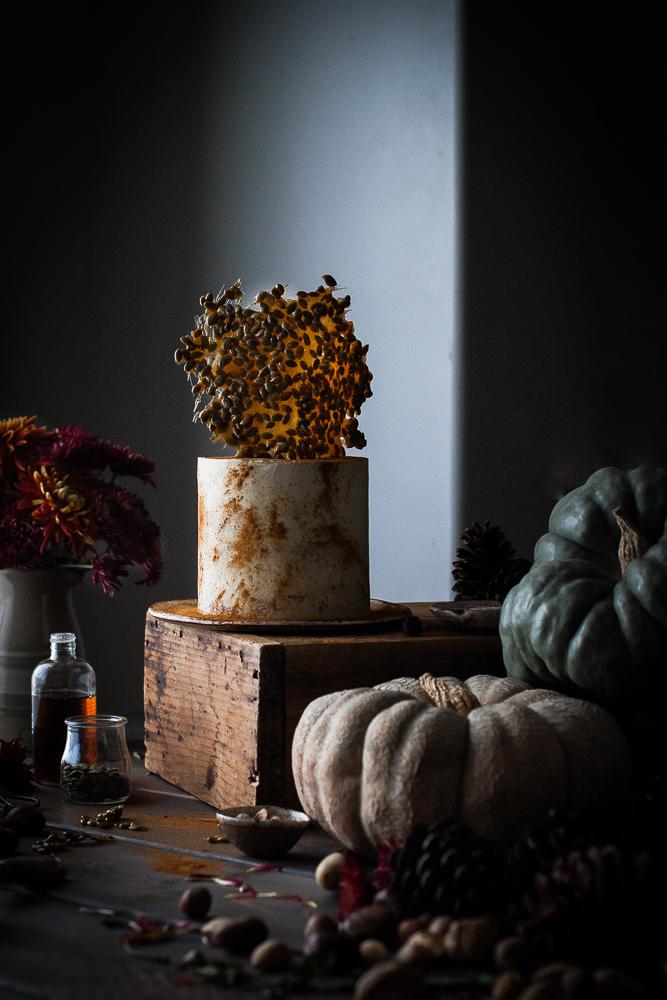 Pumpkin Seed Cake Recipe