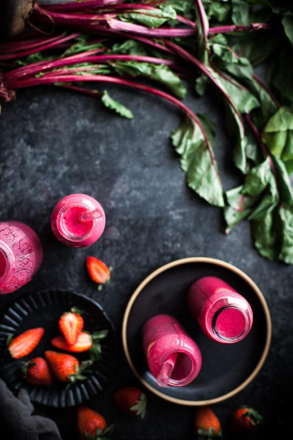 Cherry Berry Beet Smoothie