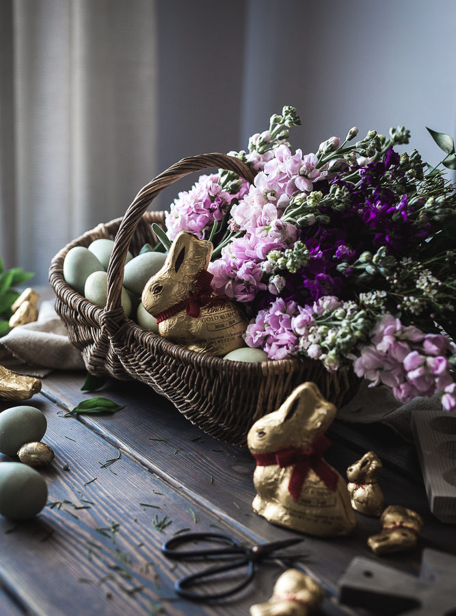 A Rustic Easter Basket for 2017