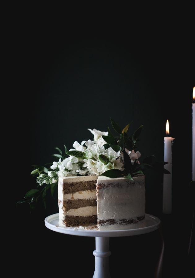 Hummingbird Cake + Lavender Swiss Meringue Buttercream (GF)