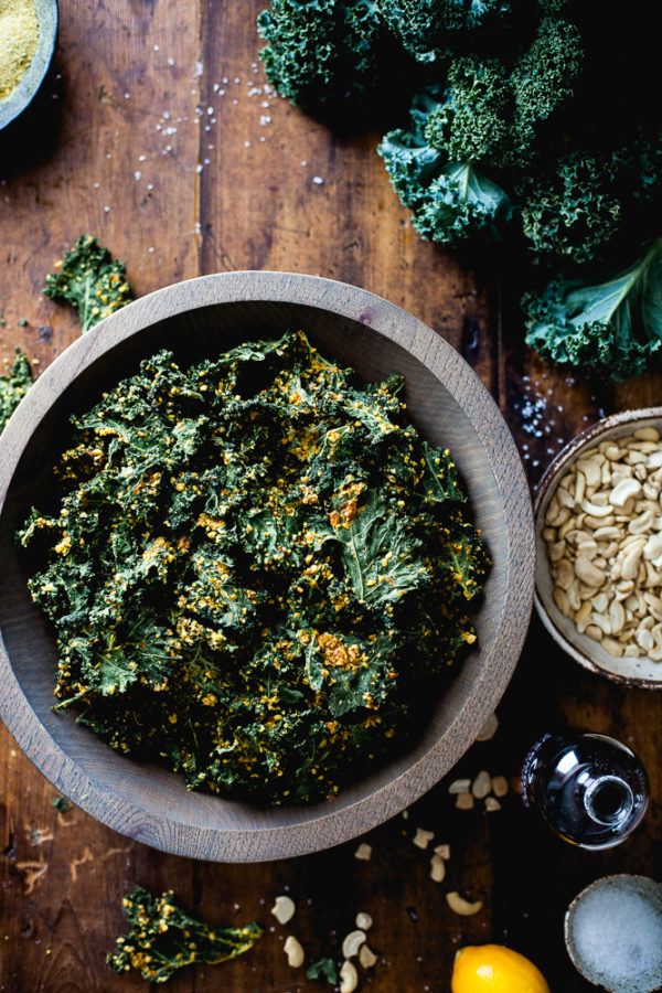 Nutty Southwestern Kale Chips 2