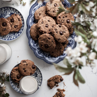 Almond Milk Chocolate Chip Cookies